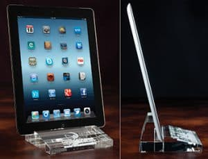 3D Crystal Tablet Holder