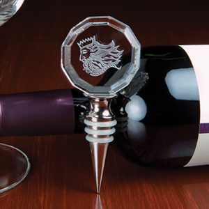 3D Crystal Wine Stopper
